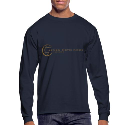 AMMT Logo Modern Look - Men's Long Sleeve T-Shirt