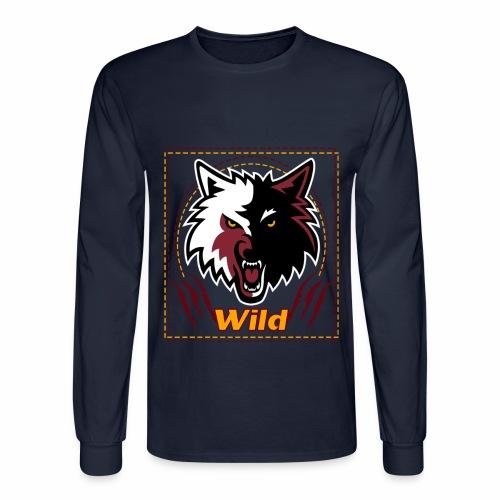 Wild - Men's Long Sleeve T-Shirt