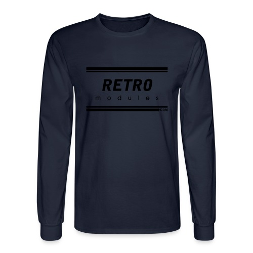 Retro Modules - Men's Long Sleeve T-Shirt