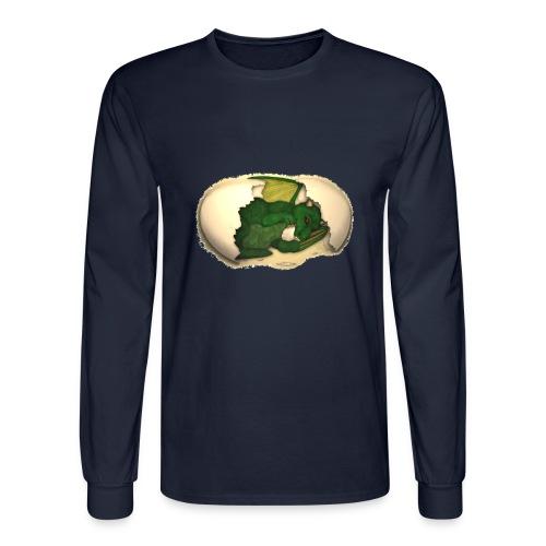 The Emerald Dragon of Nital - Men's Long Sleeve T-Shirt