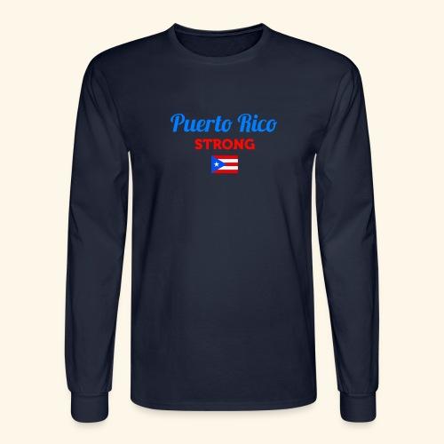 Puerto Rico always STRONG - Men's Long Sleeve T-Shirt