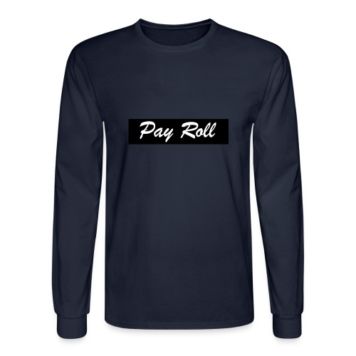 PayRoll Stripe - Men's Long Sleeve T-Shirt