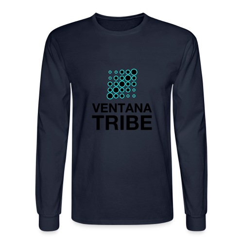 Ventana Tribe Black Logo - Men's Long Sleeve T-Shirt