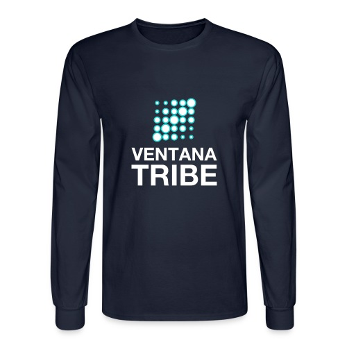 Ventana Tribe White Logo - Men's Long Sleeve T-Shirt