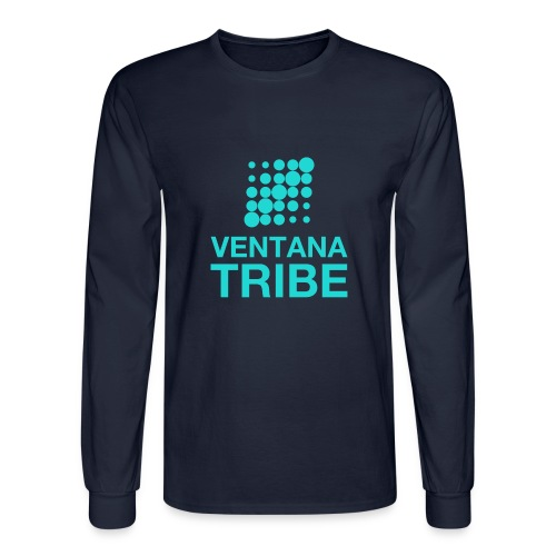 Ventana Tribe Official Logo - Men's Long Sleeve T-Shirt