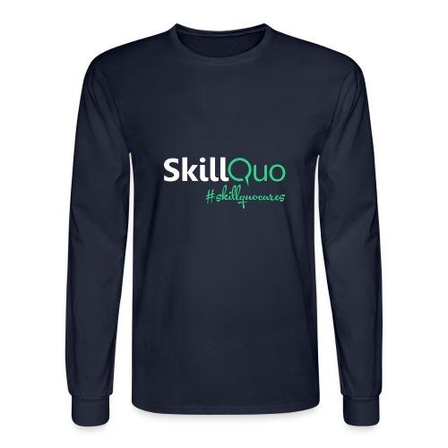 #skillquocares - Men's Long Sleeve T-Shirt