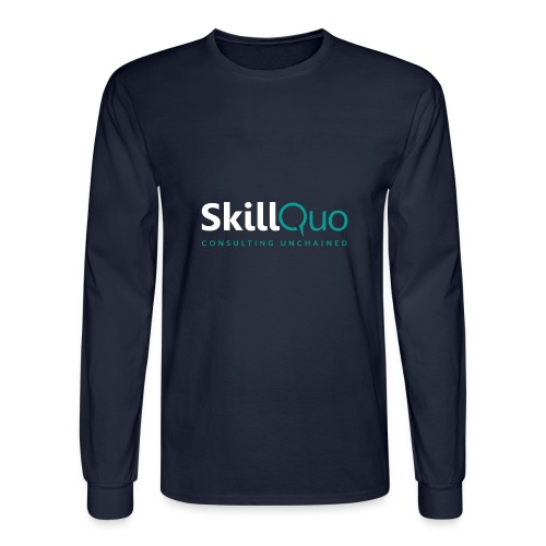 Consulting Unchained - EcoFriendly - Men's Long Sleeve T-Shirt