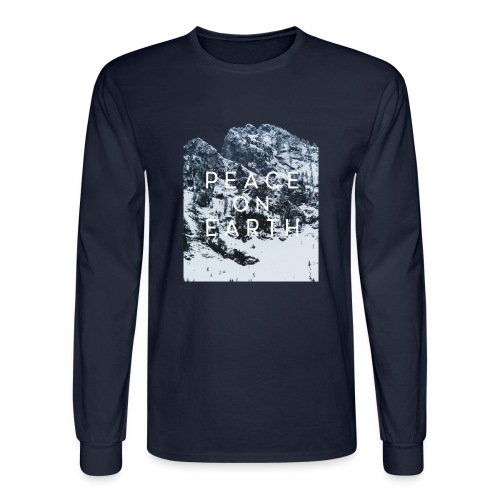 PEACE ON EARTH - Men's Long Sleeve T-Shirt