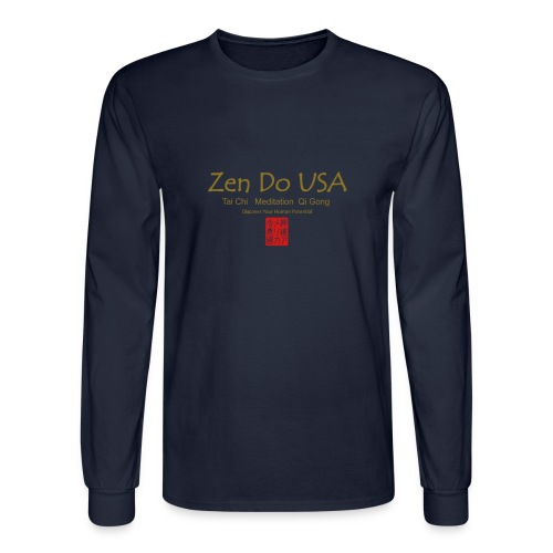 Zen Do USA - Men's Long Sleeve T-Shirt