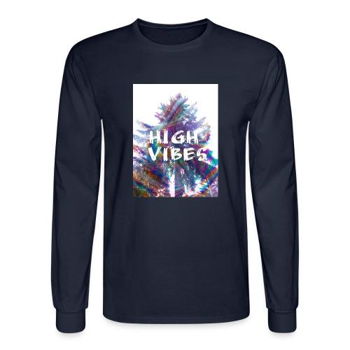 High vibes - Men's Long Sleeve T-Shirt