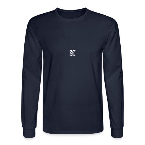 KikBackGamez Logo - Men's Long Sleeve T-Shirt