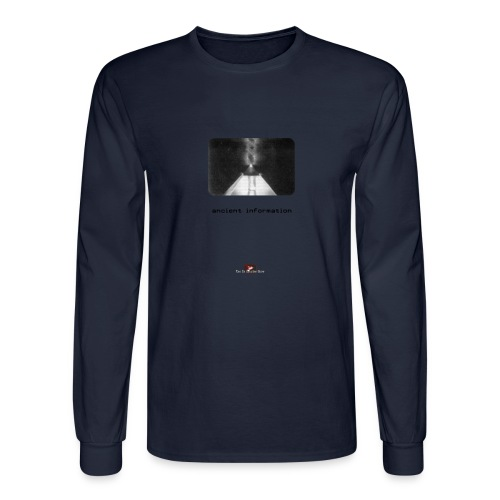 'Ancient Information' - Men's Long Sleeve T-Shirt