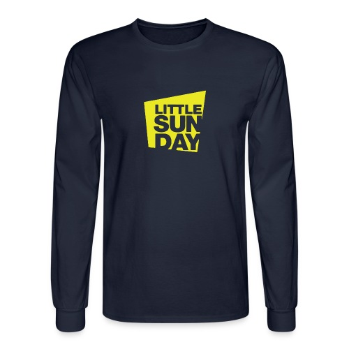 littleSUNDAY Official Logo - Men's Long Sleeve T-Shirt