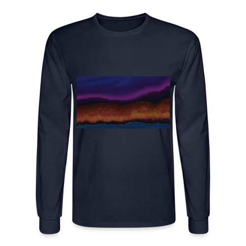 Fall Scene - Men's Long Sleeve T-Shirt