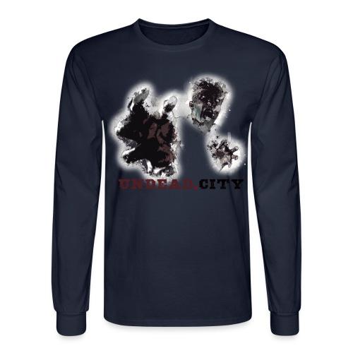 Zombie Undead City - Men's Long Sleeve T-Shirt