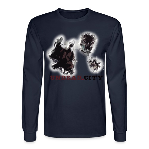 Zombie Undead City - Men's Long Sleeve T-Shirt