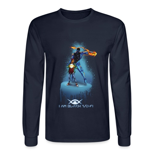 Two Tone Eclipx Hoodie - Men's Long Sleeve T-Shirt