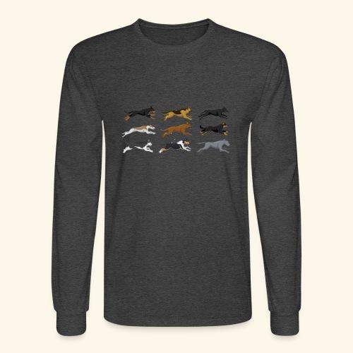 The Starting Nine - Men's Long Sleeve T-Shirt