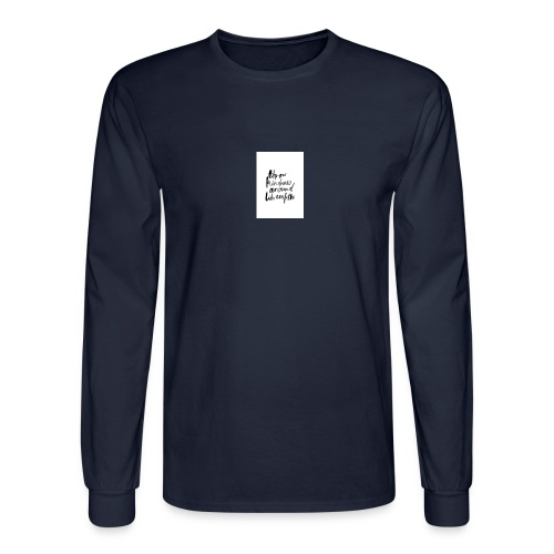 Throw kindness around - Men's Long Sleeve T-Shirt