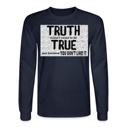 truth is true - Men's Long Sleeve T-Shirt