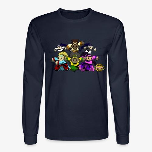 The Guardians of the Cloudgate w/ Logo - Men's Long Sleeve T-Shirt