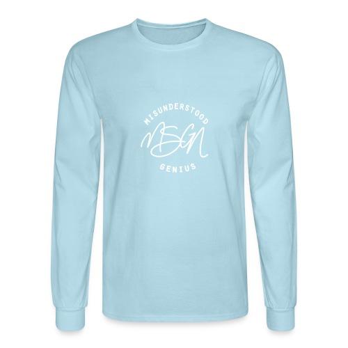 MSGN Logo - Men's Long Sleeve T-Shirt