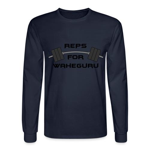 REPS FOR WAHEGURU - Men's Long Sleeve T-Shirt