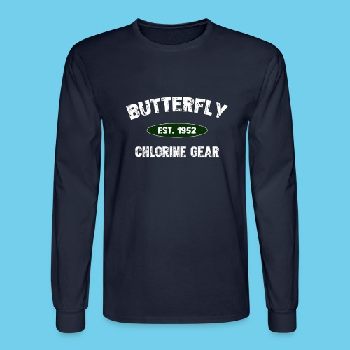 butterfly est 1952 - Men's Long Sleeve T-Shirt