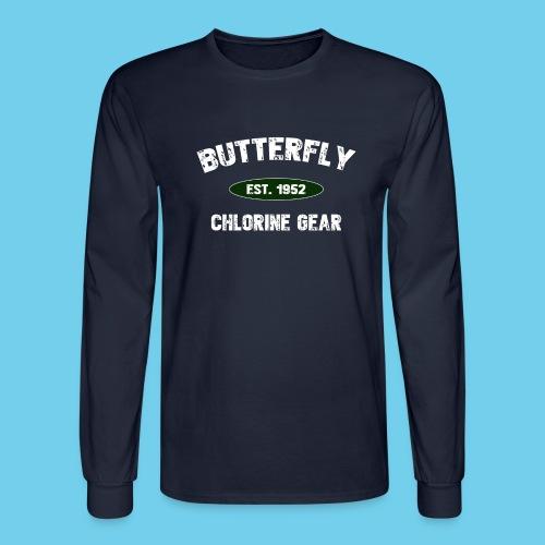 Butterfly est 1952-M - Men's Long Sleeve T-Shirt