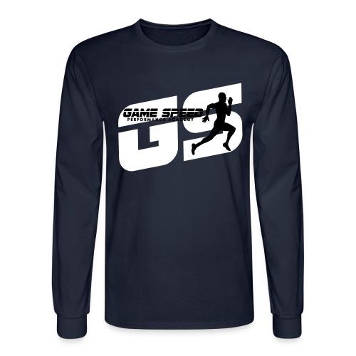 GameSpeed Logo 1inch GS - Men's Long Sleeve T-Shirt