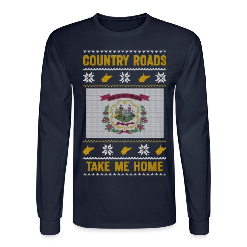 country roads - Men's Long Sleeve T-Shirt