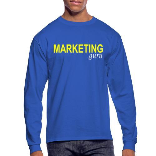 Marketing Guru - Men's Long Sleeve T-Shirt