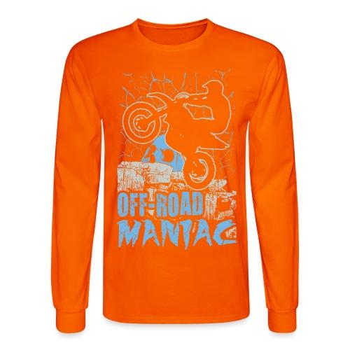Motocross Off-Road Maniac - Men's Long Sleeve T-Shirt