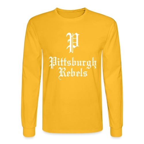 Pittsburgh Rebels - Men's Long Sleeve T-Shirt