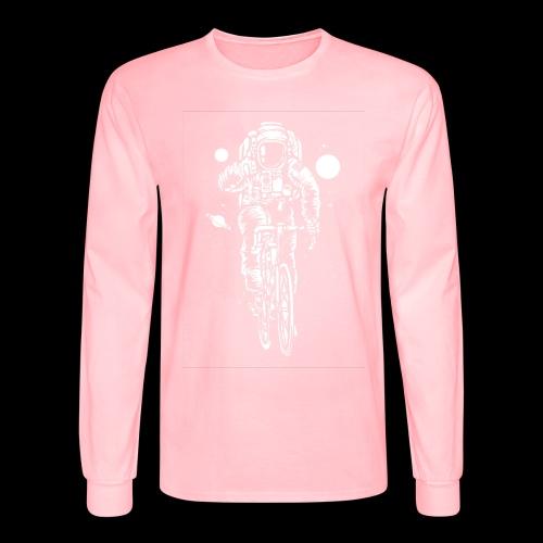 Space Cyclist - Men's Long Sleeve T-Shirt