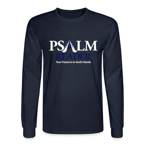 Psalm Reader - Men's Long Sleeve T-Shirt