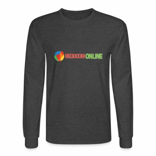 Reddcoin online logo red and green - Men's Long Sleeve T-Shirt