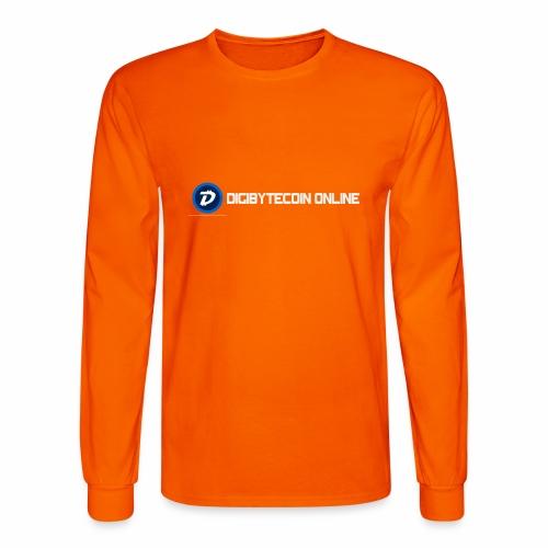 Digibyte online light - Men's Long Sleeve T-Shirt