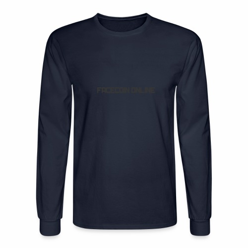 facecoin online dark - Men's Long Sleeve T-Shirt