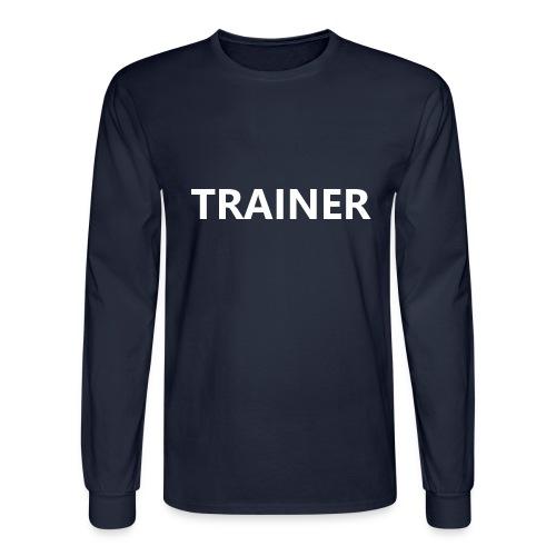Trainer - Men's Long Sleeve T-Shirt