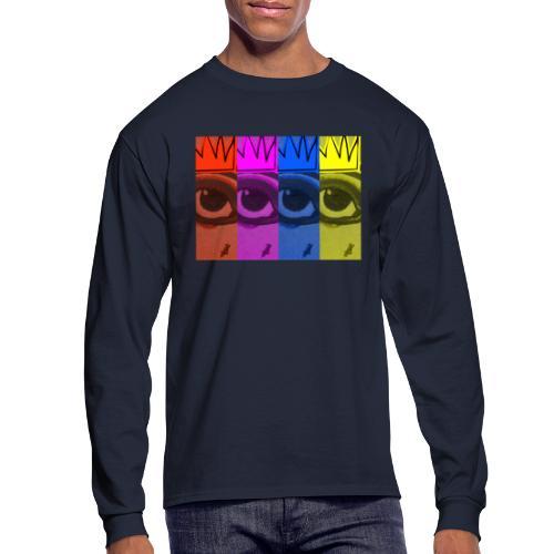 Eye Queen - Men's Long Sleeve T-Shirt