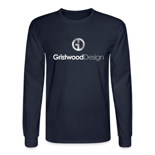 Gristwood Design Logo For Dark Fabric - Men's Long Sleeve T-Shirt