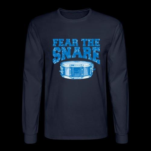 FEAR THE SNARE - Men's Long Sleeve T-Shirt