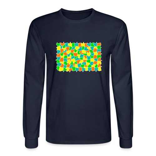 Dynamic movement - Men's Long Sleeve T-Shirt