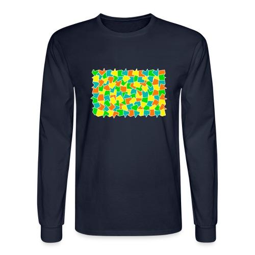 Dynamic movement - Men's Long Sleeve T-Shirt