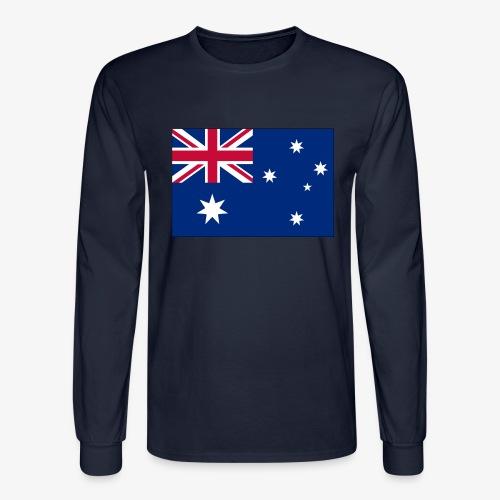 Bradys Auzzie prints - Men's Long Sleeve T-Shirt