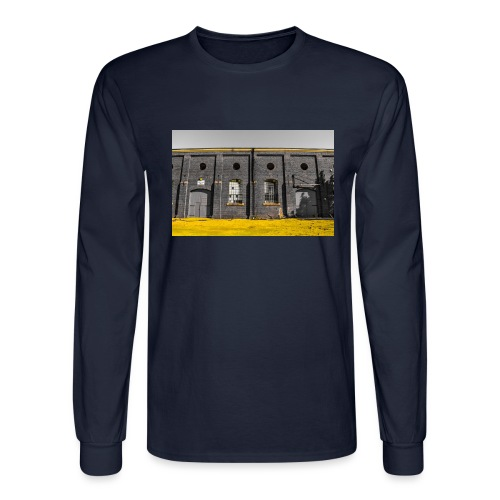 Bricks: who worked here - Men's Long Sleeve T-Shirt