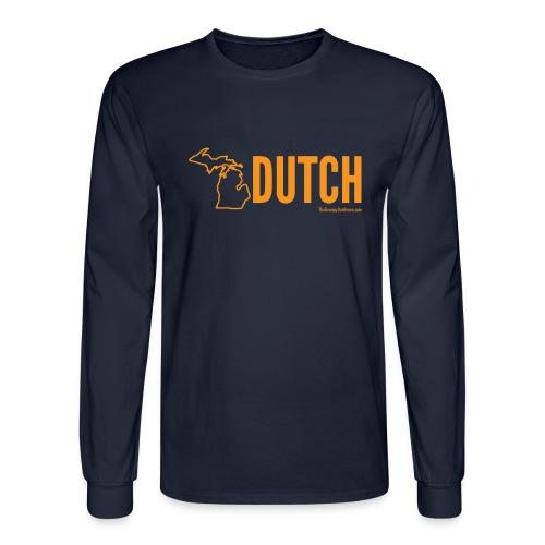 Michigan Dutch (orange) - Men's Long Sleeve T-Shirt