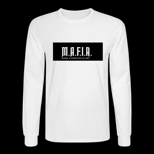 Classic Mafia Logo Black - Men's Long Sleeve T-Shirt