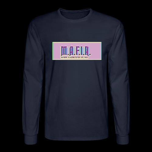 Trippy Mafia Logo - Men's Long Sleeve T-Shirt